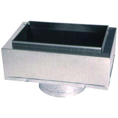 8 in. x 4 in. to 4 in. Insulated Register Box