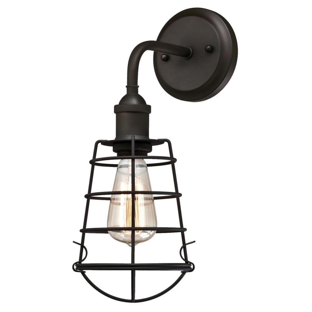 Westinghouse Oliver 1-Light Oil Rubbed Bronze Wall Mount Sconce