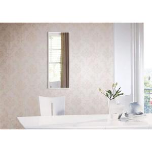 20.4375 in. x 4.4375 in. Brite White Panel Mirror