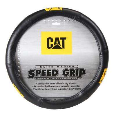 Caterpillar Elite Speed Grip Steering Wheel Cover