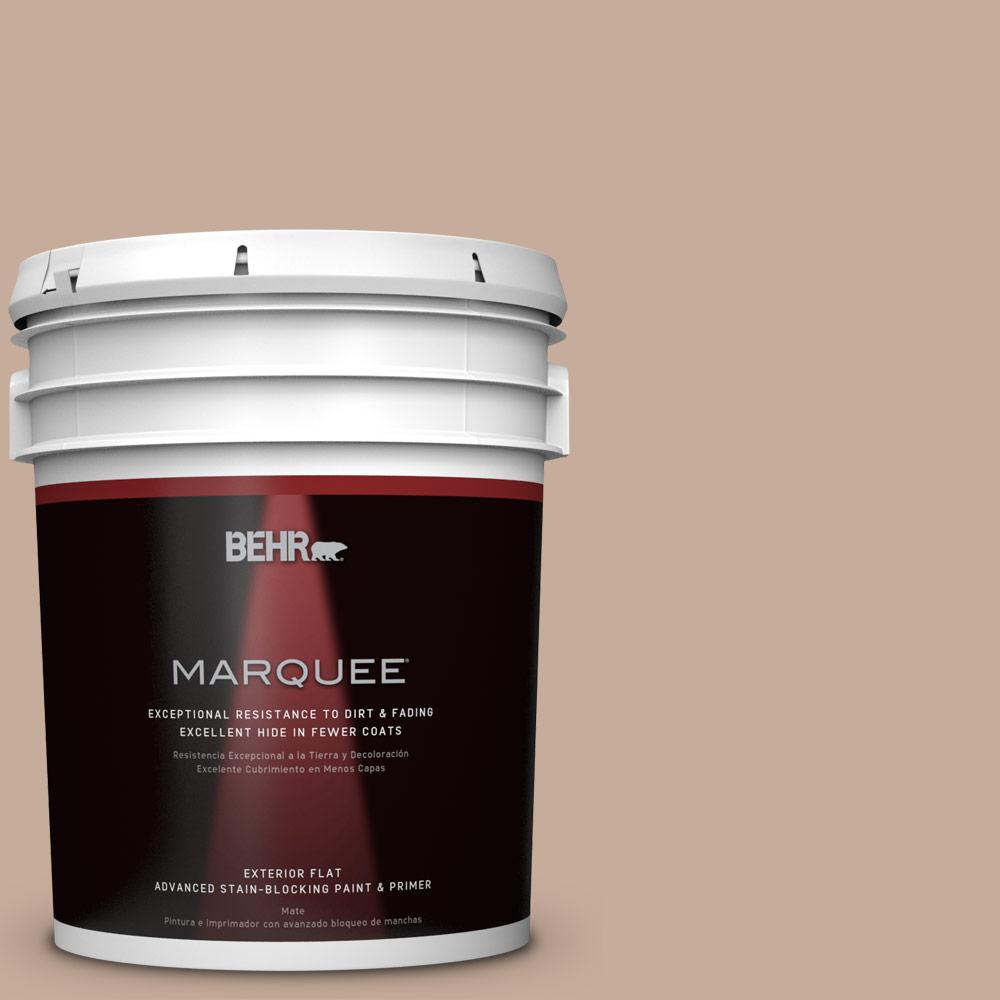 5-gal. #ECC-57-1 California Stucco Flat Exterior Paint