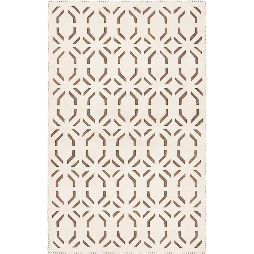Lustenau Beige 5 ft. x 7 ft. 6 in. Indoor Area