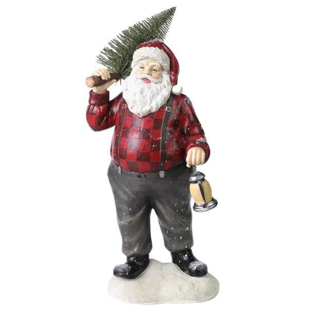 7 in. Santa Claus Statuary Ornament