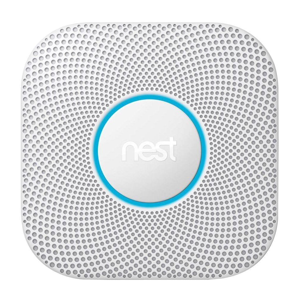 Nest Protect Wired Smoke and Carbon Monoxide Detector-S3003LWES ...