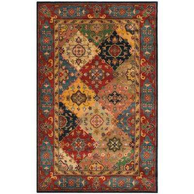 Heritage Red Multi 5 Ft X 12 Runner Rug