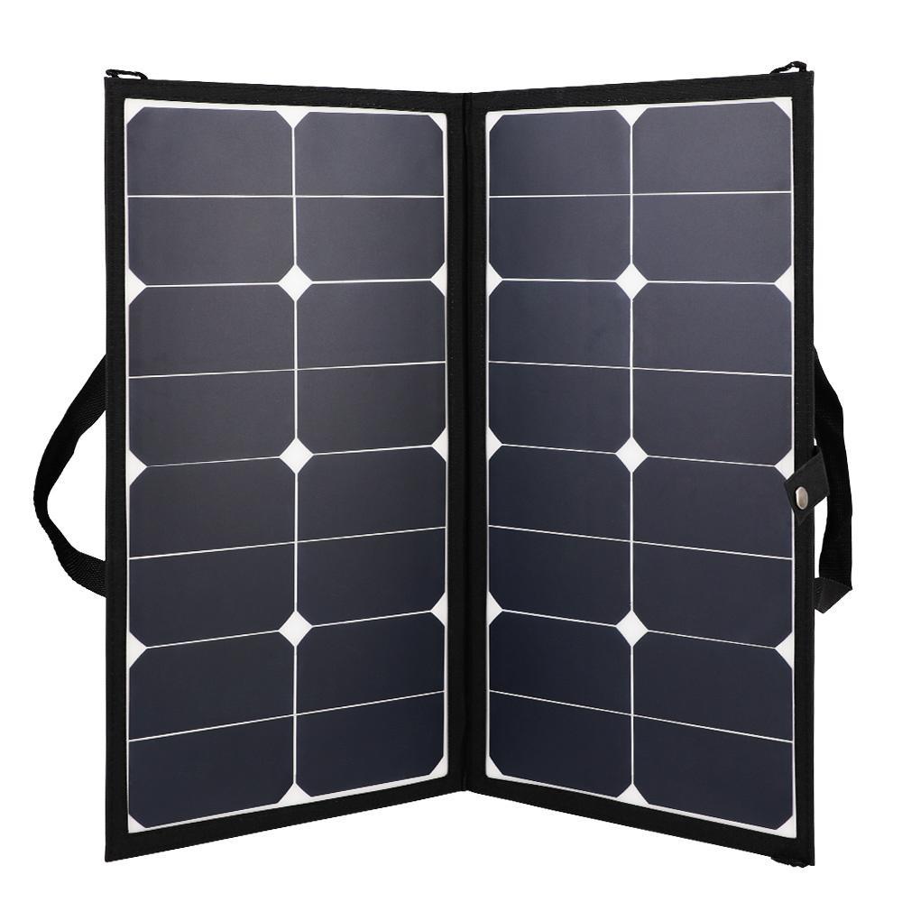 Renogy Eclipse 50-Watt 12-Volt Lightweight Monocrystalline Solar Panel for RV Boat Solar System