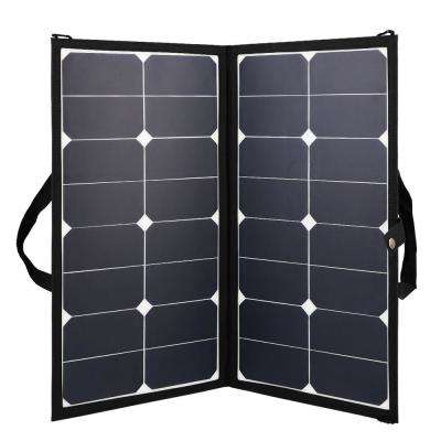 Eclipse 50-Watt 12-Volt Lightweight Monocrystalline Solar Panel for RV Boat Solar System