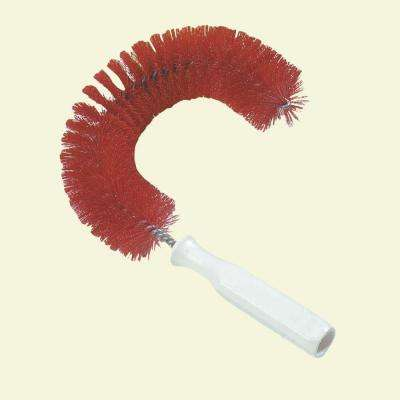 11.5 in. W x 2 in. Diameter Polyester Red Clean-in-Place Hook Brush (Case of 12)