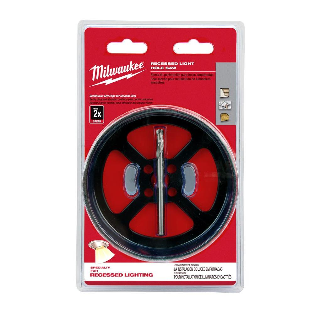 Milwaukee 6-3/8 in. Recessed Light Hole Saw