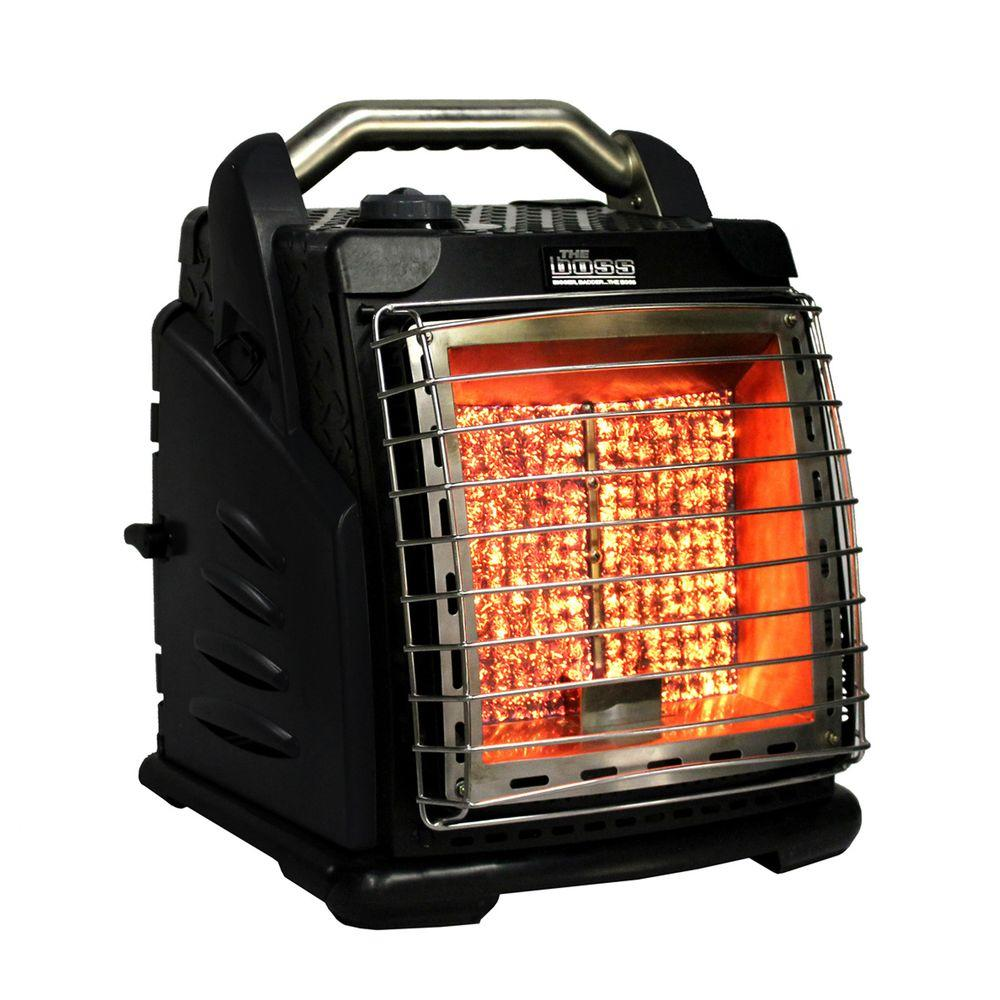 The Boss 20,000 BTU Portable Infrared Portable Heater with ...