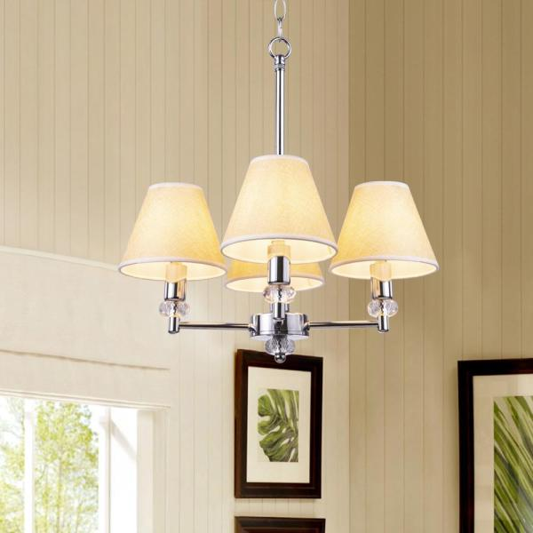 Light Gold Small Chandelier Lamp Shades