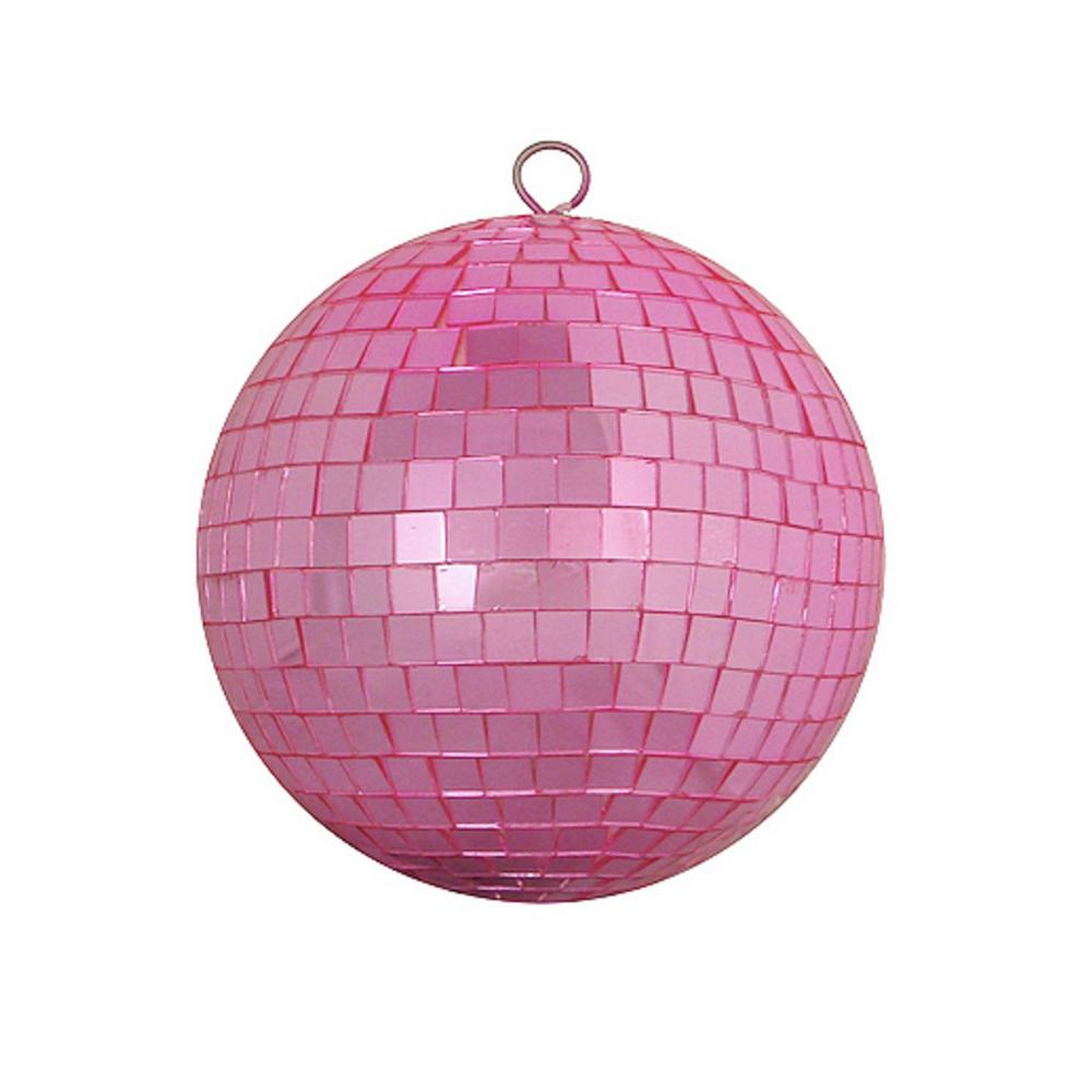 Christmas Disco Ball.Northlight Bubblegum Pink Mirrored Glass Disco Ball Christmas Ornament