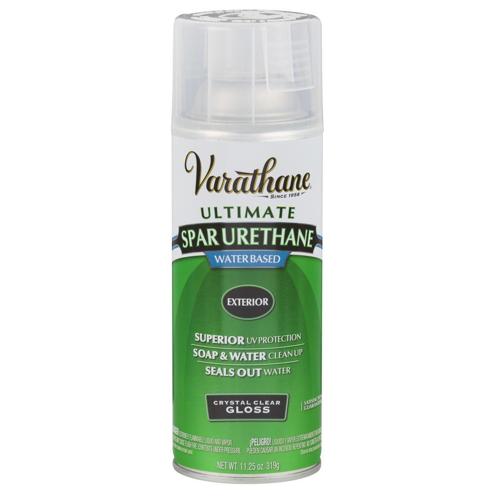 Varathane 11.25 oz. Clear Gloss Spar Urethane Spray Paint (6-Pack)