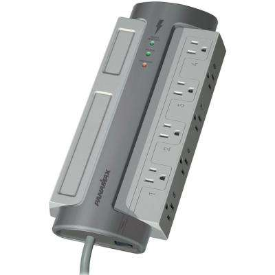 8-Outlet Surge Protector with Circuitry Protection