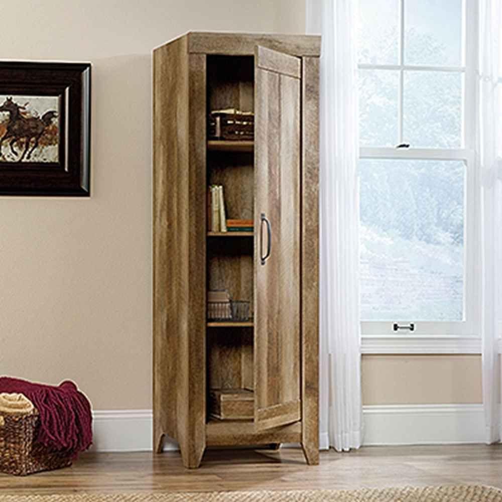 Craftsman Kitchen Oak Cabinets: SAUDER Adept Craftsman Oak Storage Cabinet-418137