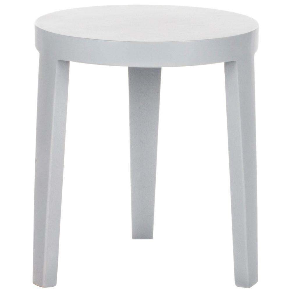 Safavieh Wilma Pearl Blue Gray Side Table