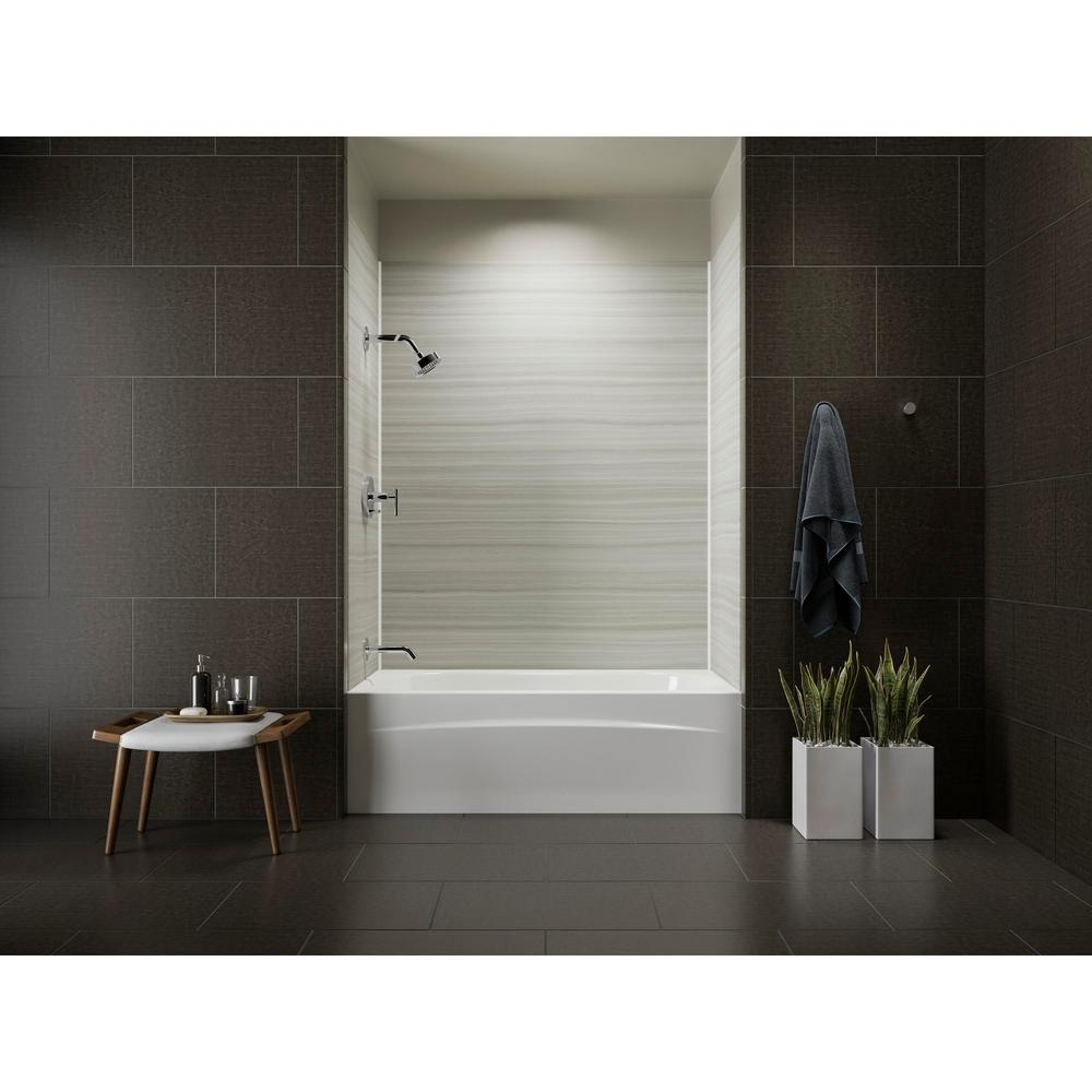 KOHLER Choreograph 32 in. x 60 in. x 72 in. Bath and Shower Stall ...