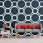 3/8 in. x 38-5/8 in. x 23-3/4 in. Large Hemingway White Architectural Grade PVC Decorative Wall Panels