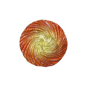 Click here to buy Alpine 18 inch Orange Swirl Birdbath by Alpine.