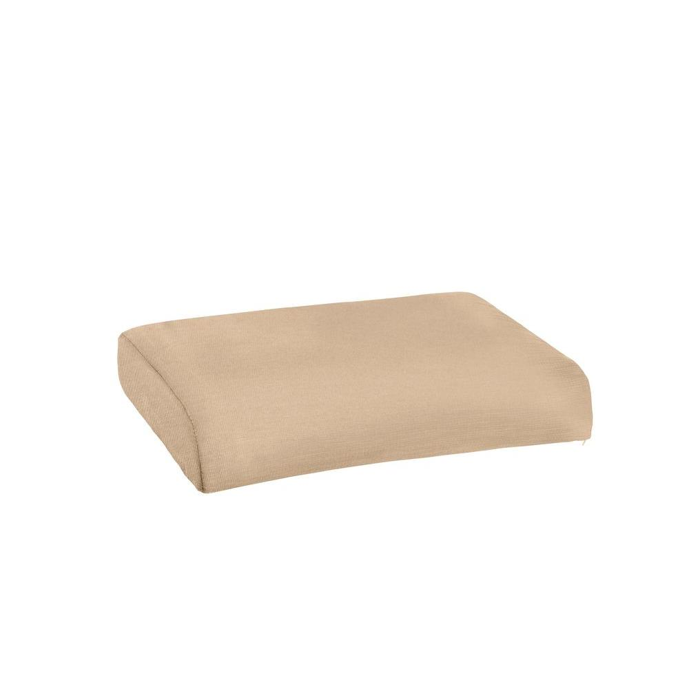 Marquis Replacement Outdoor Ottoman Cushion in Harvest