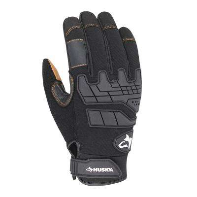 X-Large Goat Leather Heavy-Duty Glove (2-Pack)