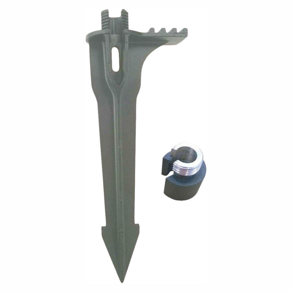 Hampton Bay Black Replacement Stake with Adapter