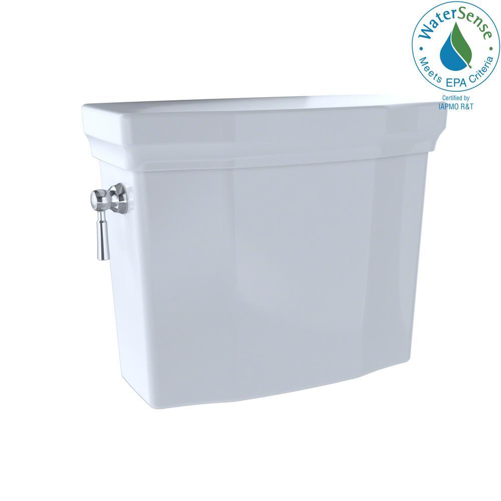 Promenade II 1.28 GPF Single Flush Toilet Tank Only in Cotton White