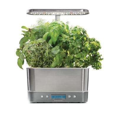 Harvest Elite, Stainless Steel with Seed Starting System Bundle