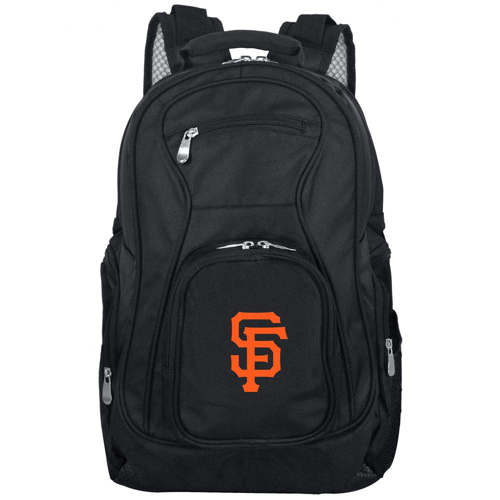 MLB San Francisco Giants Black Backpack Laptop
