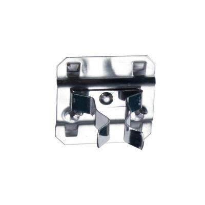 Extended Spring Clip, Hold Range 1 in. - 2 in. for Stainless Steel LocBoard, (3-Pack)