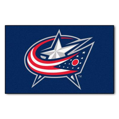 Columbus Blue Jackets 5 ft. x 8 ft. Ulti-Mat