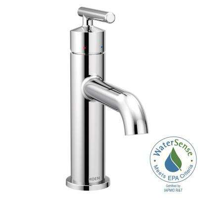 Gibson Single Hole Single-Handle Bathroom Faucet with Drain Assembly in Chrome