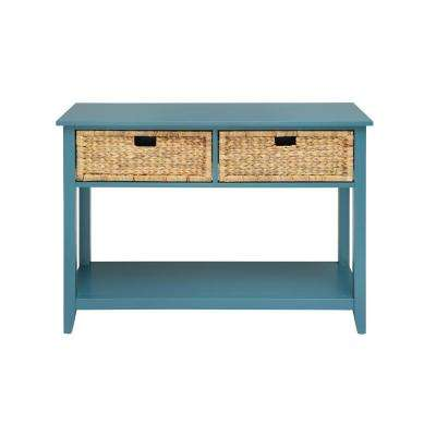 Flavius Console Table in Teal