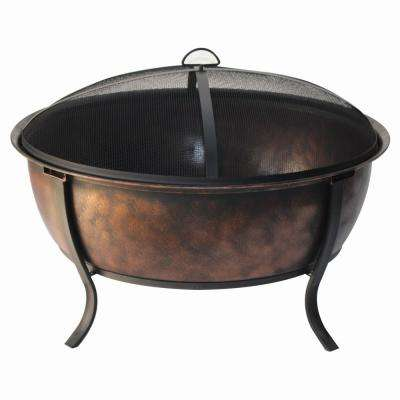 32 in. Bulter Deak Deep Fire Bowl