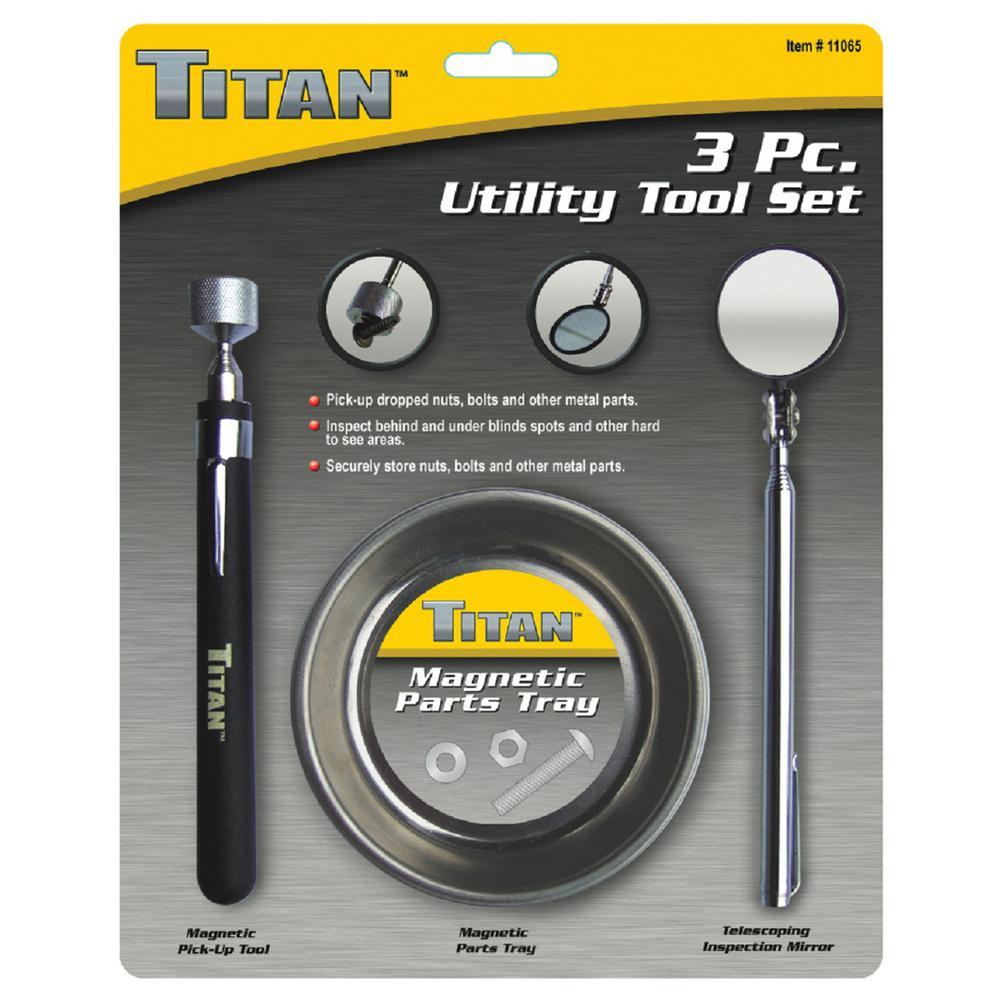 3-Piece Utility Tool Set