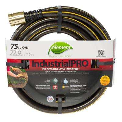 IndustrialPRO 5/8 in. Dia x 75 ft. Lead Free Garden Hose