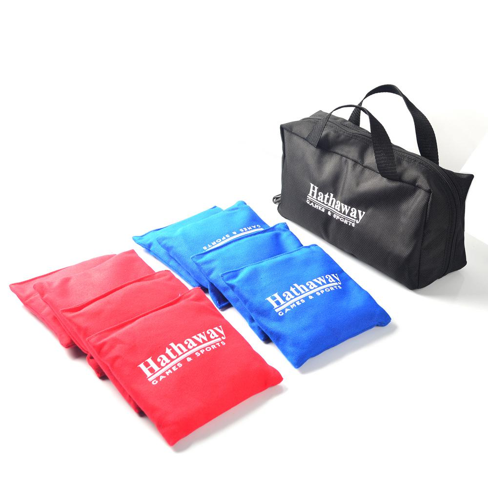 Hathaway Regulation Bag Set With Included Case In Red Blue