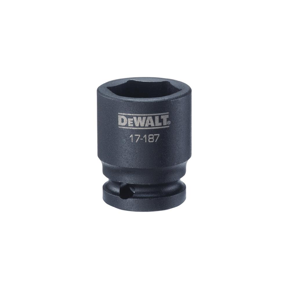 DEWALT 1/2 in. Drive 23 mm 6-Point Impact Socket was $8.14 now $3.26 (60.0% off)
