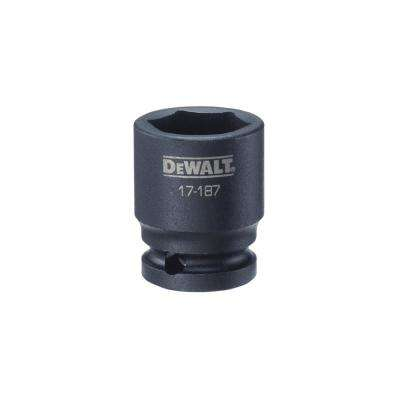 1/2 in. Drive 23 mm 6-Point Impact Socket