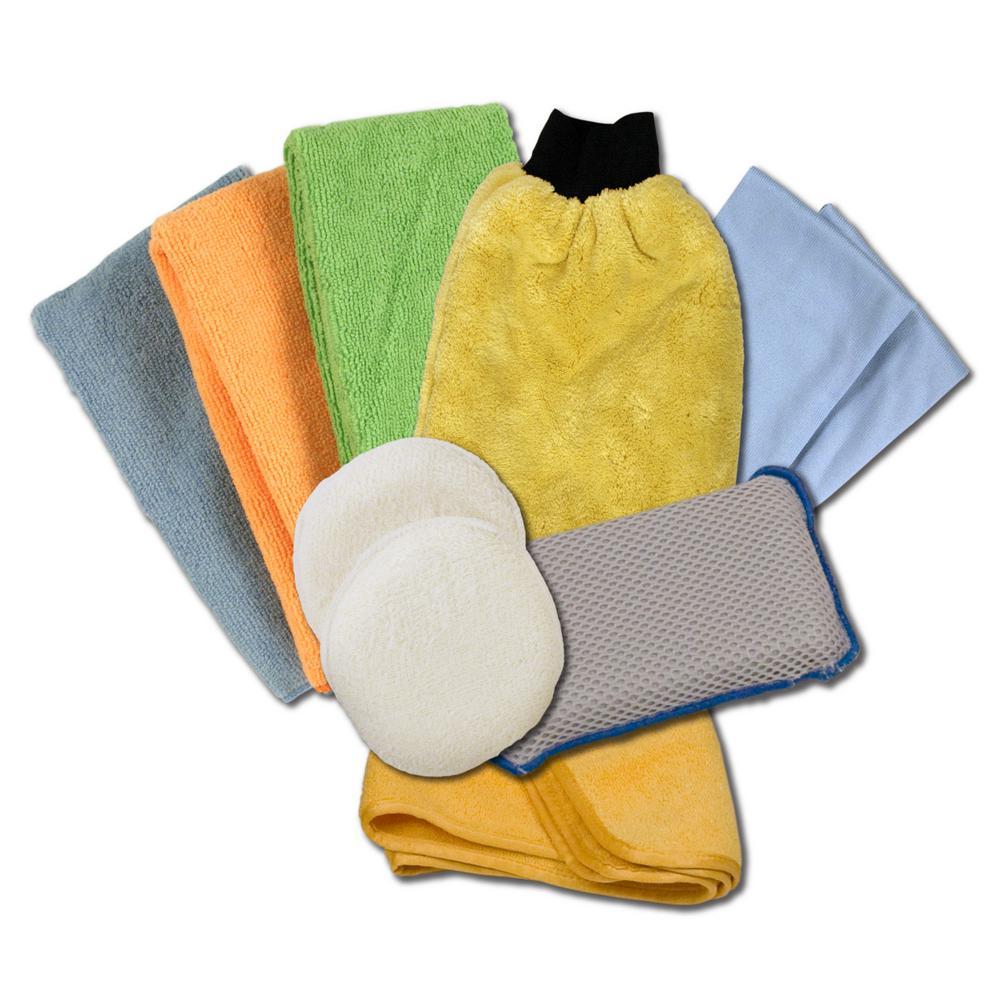 Microfiber Detailing Kit (10-Pack)