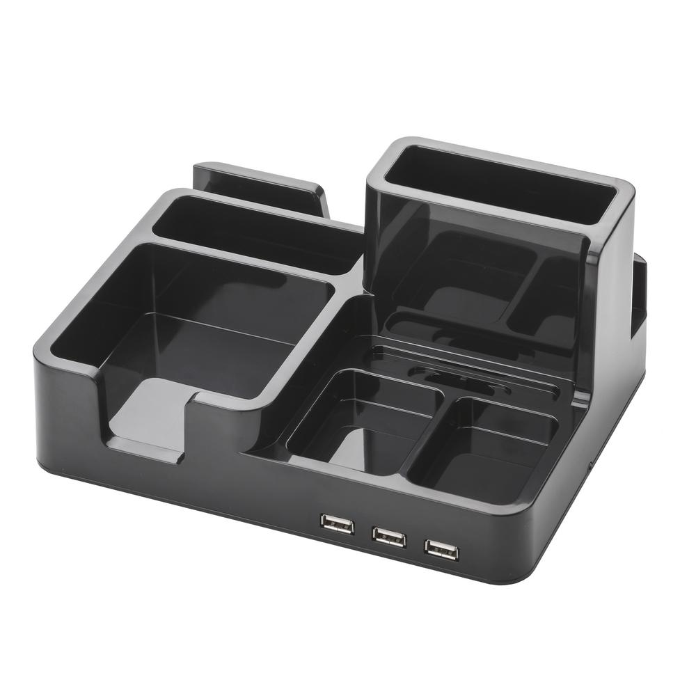 OMD,Desk Organizer and Docking Station for iPad/iPhone/Ta...