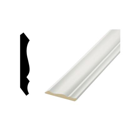 LWM 49 - 19/32 in. x 3-5/8 in. Primed MDF Crown Moulding