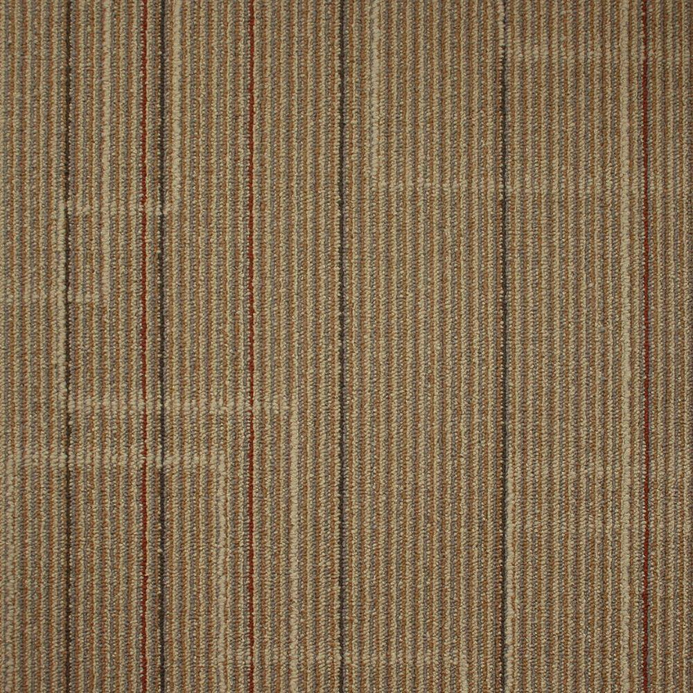 Ellis Lithograph Loop 19.7 in. x 19.7 in. Carpet Tile (20