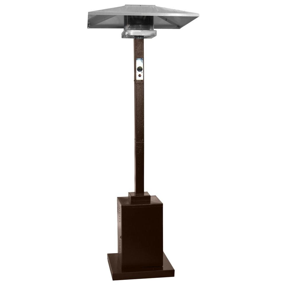 AZ Patio Heaters 41000 BTU Commercial Hammered Bronze Gas Heater HS HG