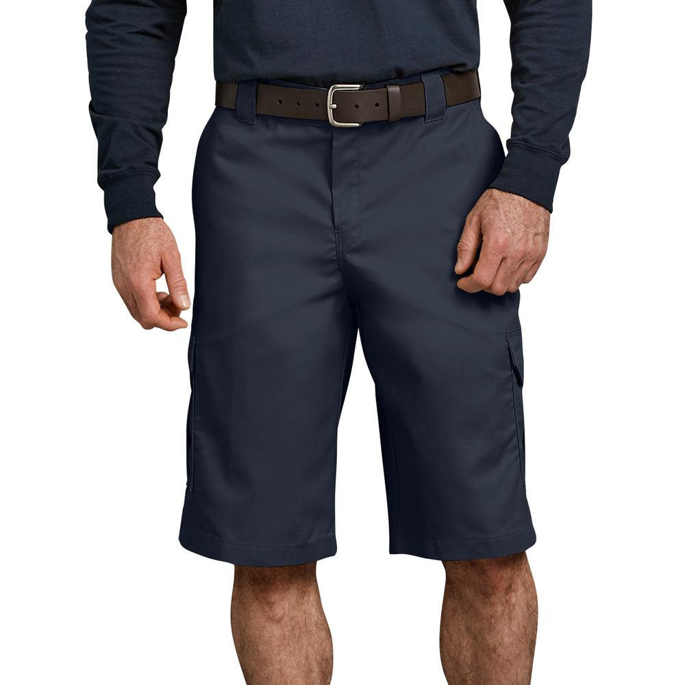 Dickies Men's Dark Navy Flex 13 in. Relaxed Fit Cargo Short