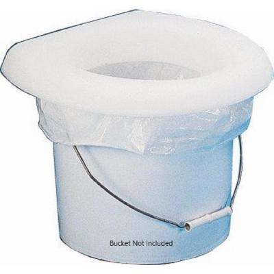 White Bucket Potty Seat