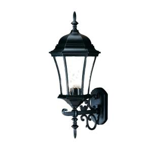Acclaim Lighting Brynmawr Collection 3-Light Matte Black Outdoor Wall-Mount Light Fixture by Acclaim Lighting