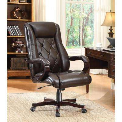 Chapman Espresso Executive Chair