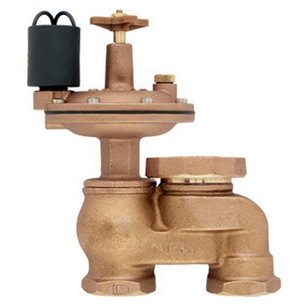 Orbit 1 in. Brass Automatic Anti-Siphon Valve