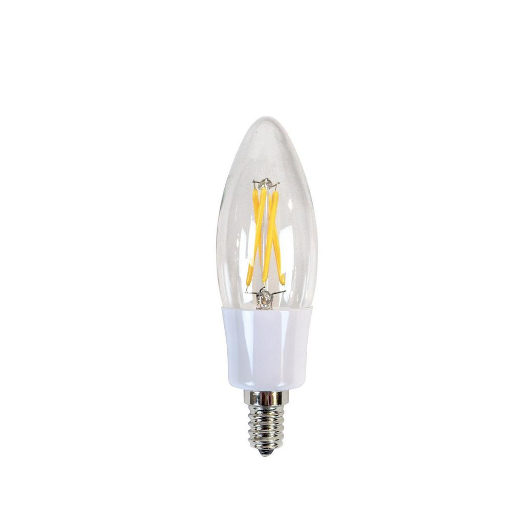 led candelabra bulbs newhouse lighting 40w equivalent incandescent b10 3702